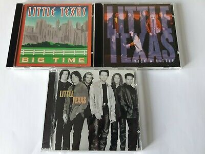 $ CDN19.99 • Buy Lot Of 3 Little Texas Country Music CD'S Very Good Condition