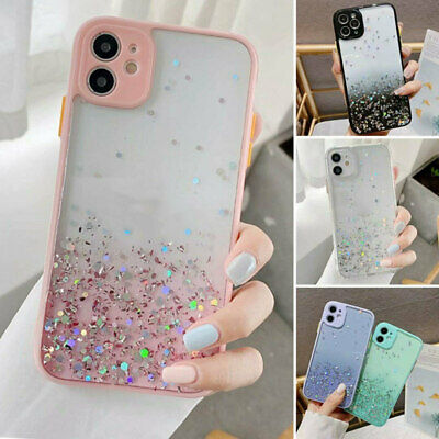 AU12.62 • Buy Cute Bling Glitter Clear Case Girls Cover For IPhone 11 Pro Max 8 Plus XR XS Max