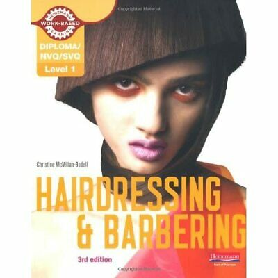 £27.31 • Buy NVQ/SVQ Level 1 Hairdressing And Barbering Candidate Ha - Paperback NEW McMillan