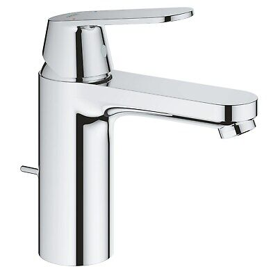 Grohe Eurosmart Cosmopolitan M-Size Basin Mixer Tap With Pop-up Waste - 23325000 • 102.97£