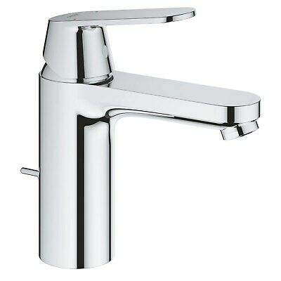 Grohe Eurosmart Cosmopolitan M-Size Basin Mixer Tap With Pop-up Waste - 23325000 • 101.97£