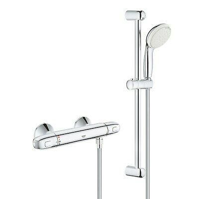 £167.96 • Buy Grohe Grohtherm 1000 New Thermostatic Shower Mixer And Kit - 34557001