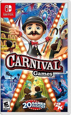 AU55.40 • Buy Carnival Games Nintendo Switch Video Game New Sealed