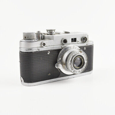 Zorki C - Old Camera With Industar-22 1:3,5 For = 5cm - Vintage Camera - USSR • 44.93£