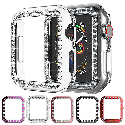$ CDN7.23 • Buy For Apple Watch Series 5/4/3/2 Bling Glitter Case Iwatch 42/38mm 40/44mm Cover
