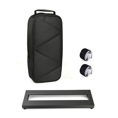 $ CDN46.99 • Buy Small Size Guitar Effect Pedal Board Aluminum Alloy Pedalboard With Carrying Bag