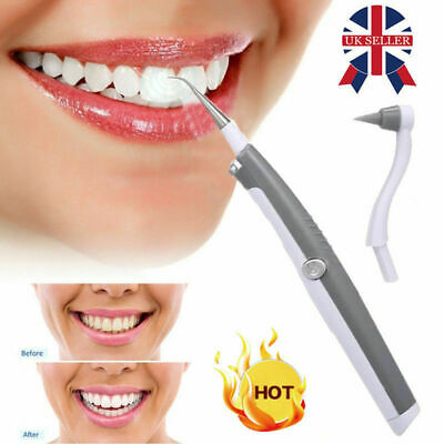 Ultrasonic Tooth Cleaner Electric Dental Stain Polisher Plaque Tartar Remover • 5.29£