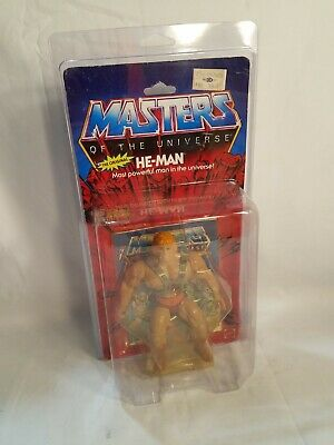 $1838.81 • Buy Masters Of The Universe He-Man The Original 1982 MotU Figure MOC Sealed/Carded