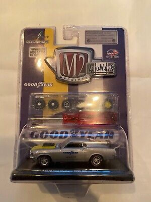 $34.99 • Buy NEW M2 Machines CHASE Auto Wheels  GoodYear  1970 Ford Mustang Boss 429 Unopened