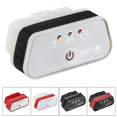 AU25.87 • Buy ODB2 OBDII Car Code Reader WiFi Diagnostic Scanner Tool For Iphone  IOS Android