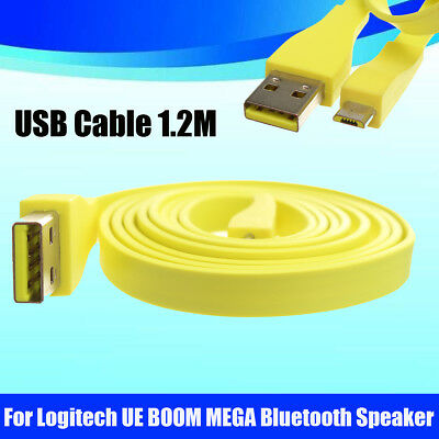 AU23.53 • Buy 1.2M Micro USB PC Charger Data Cable For Logitech UE BOOM MEGA Bluetooth