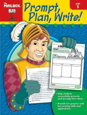 $5.25 • Buy Prompt, Plan, And Write : Grade 5 By The Mailbox Books Staff