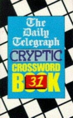 £5.49 • Buy Daily Telegraph Cryptic Crossword Book 31 By Telegraph Group Limited Paperback