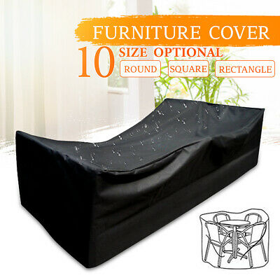 AU17.19 • Buy 9 Size Outdoor Garden Patio Yard Waterproof Furniture Covers Rain U
