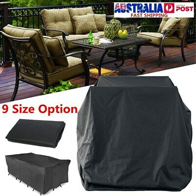 AU15.24 • Buy AU 9 Size Waterproof Furniture Cover Outdoor Garden Yard Patio Table  AU2