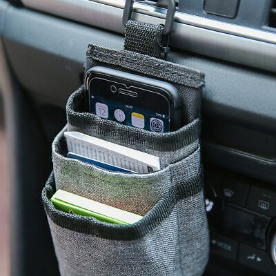 1pcs Car Air Vent Pocket Card Ticket Organizer Storage Container Bags Box New • 5.99£