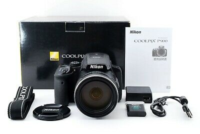 Nikon Coolpix P900 83x Zoom Lens Compact Digital Camera • 421.25£