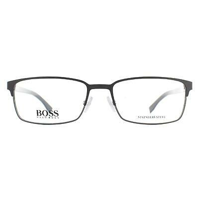Hugo Boss Glasses Frames BOSS 0766 QIL Matte Black • 61£