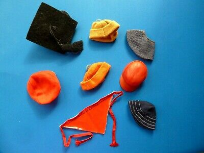 $ CDN33.99 • Buy Vintage Barbie Skipper Ken Lot Of Hats From 1960's (4)