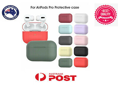 AU5.99 • Buy Airpods Pro Case Silicone Shockproof Slim Protective Cover For Apple Airpods Pro