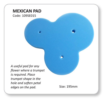 JEM Mexican Pad For JEM Cutters Sugarcraft Cake Decorating Flowers • 4.69£