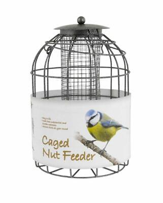 Dome Shaped Caged Nut Feeder - Squirrel Proof, Pigeons & Other Predators • 12.99£