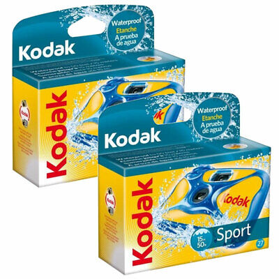 £31.96 • Buy 2 X Kodak Ultra Sport Underwater Disposable Camera