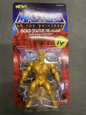 $20 • Buy Super7 Gold Statue He-Man Masters Of The Universe Figure