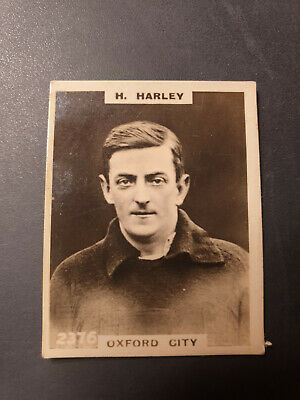 FOOTBALL GODFREY PHILLIPS PINNACE Cigarette Card 2376 OXFORD CITY • 3.50£