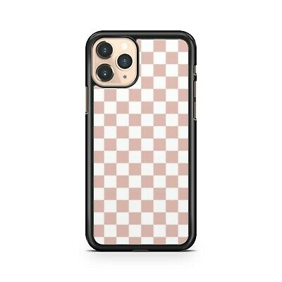 AU10.96 • Buy Pink Lush White Pretty Pink Check Squares Pattern Checkered Phone Case Cover