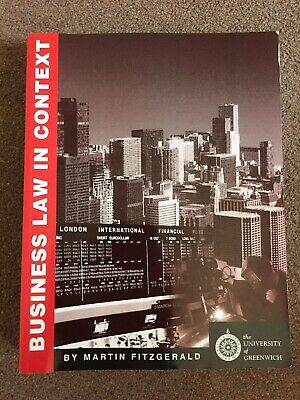 Business Law In Context Text Book • 5£