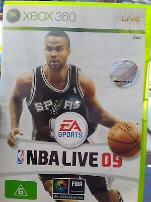 AU6.99 • Buy 💛⭐🌟✨🏀 NBA LIVE 09 - Xbox 360 Game (PAL)  **COMPLETE** - 🏀✨⭐🌟✨🌟