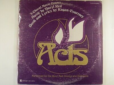 ACTS - Christian Musical - BURYL RED CHORUS & ORCHESTRA - ACTS - 2LPs • 11.54£