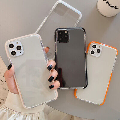 AU13.99 • Buy Clear Protective Case For IPhone 11,Pro Max XR XS Max 7 8 Plus XS MAX SE Cover