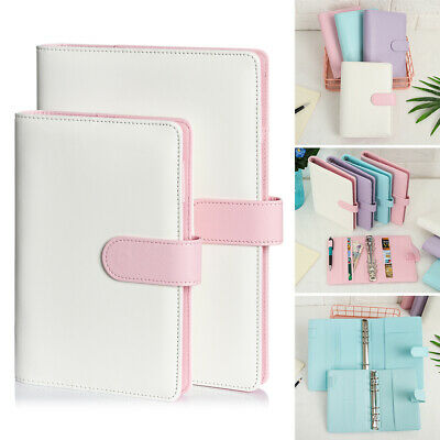 AU22.89 • Buy NEW A5 A6 Classic Loose Leaf Ring Binder Notebook Planner Diary Notebook Cover