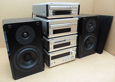 Yamaha Natural Sound RX MDX CDX KX E100 Component HiFi Audio System & Speakers • 300£