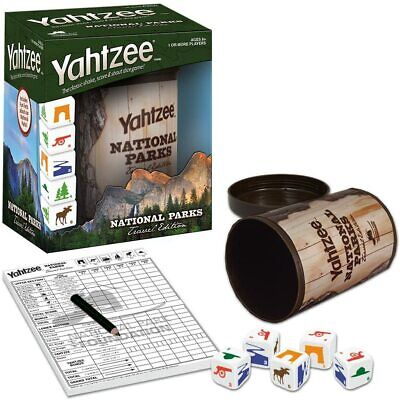 AU29.70 • Buy National Parks Travel Edition Yahtzee Dice Game