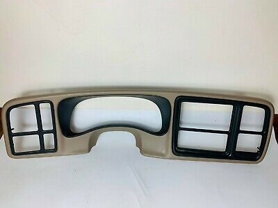 $79.99 • Buy 🔥03-06 SILVERADO SIERRA Cluster Dash Trim DOUBLE DIN Radio Bezel LIGHT TAN