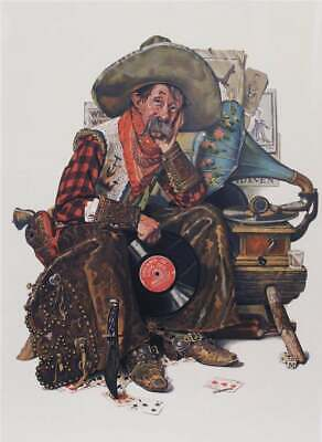 $ CDN5089.85 • Buy Norman Rockwell -  Dreams Of Long Ago  L/E Of 200 - Hand-signed/Numbered