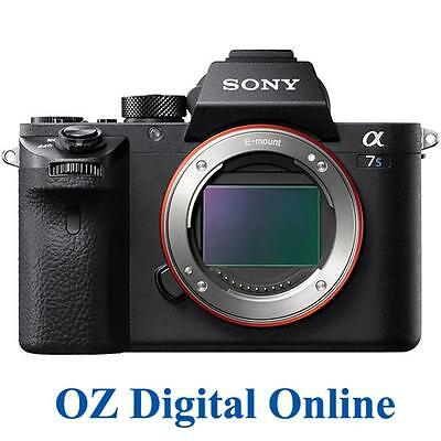 AU3999 • Buy NEW Sony Alpha A7S II 12.2MP Mirrorless Digital Camera Body Mark II Mk2 1YrAuWty