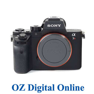 AU1799 • Buy NEW Sony Alpha A7RII Mirrorless 42MP Camera Body A7R II Mark2 Mk 2 1 Yr AuWty