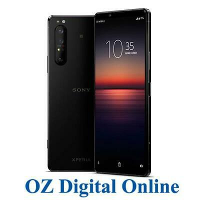 AU1001 • Buy NEW Sony Xperia 1 II Dual XQ-AT52 256GB Black (8GB) 5G Unlocked Phone 1 Yr AuWty