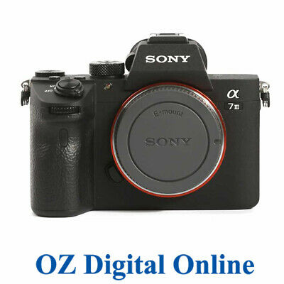 AU2329 • Buy NEW Sony A7 III Body Black Mirrorless 24MP 4K Full HD Digital Camera 1Yr Au Wty