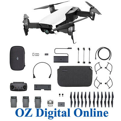 AU3999 • Buy NEW DJI Mavic Air Fly More Combo Arctic White 4K 12MP Camera Drone 1 Year Au Wty