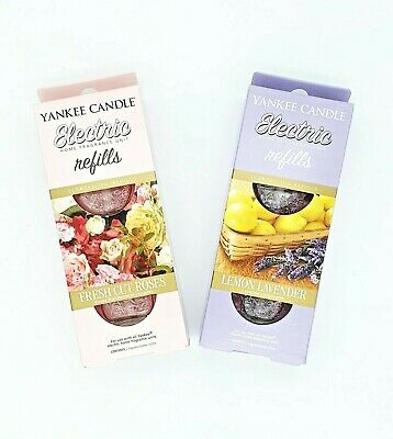 Uk Yankee Candle Electric Plug In Twin Refill Air Freshener Scents And Plug New • 8.95£