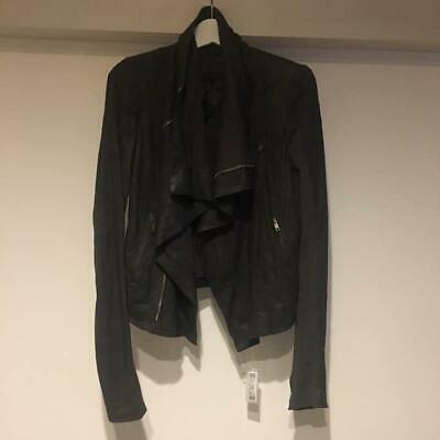 Rick Owens Authentic Deformed Lamb Leather CLASSIC BIKER Riders Jacket 40 Used • 589.50£