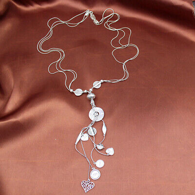 $ CDN13.17 • Buy New 30  Lia Sophia Charms Pendant Necklace Long Gift Vintage Women Party Jewelry