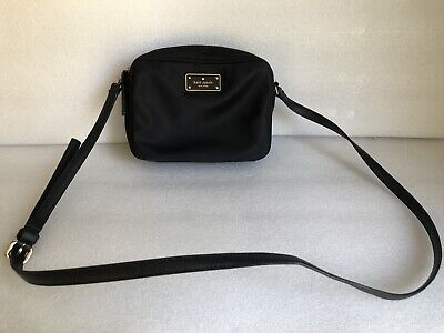 $ CDN61.65 • Buy Kate Spade Mindy Black Avenue Small Nylon Black Crossbody