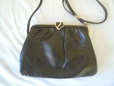 Jane Shilton Ladies Brown Leather Shoulder Bag (excellent Condition) • 12.99£