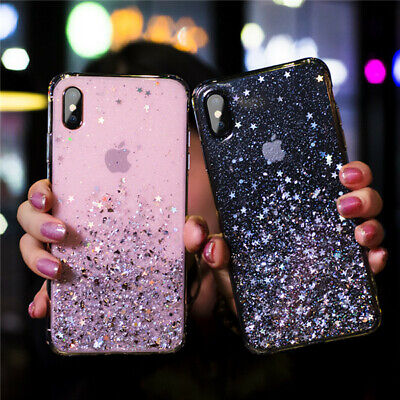 AU10 • Buy Bling Glitter Soft Shockproof Case For IPhone 11 Pro XS Max XR X 8 7 Plus Cover